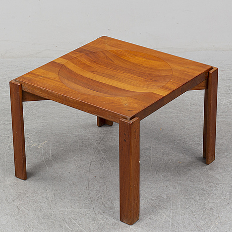 Jens quistgaard, a second half of the 20th century teak table for källemo.
