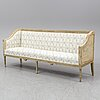 An end of the 18th century gustavian sofa.