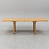 Alvar aalto, an elm dining table h94, artek, finland.