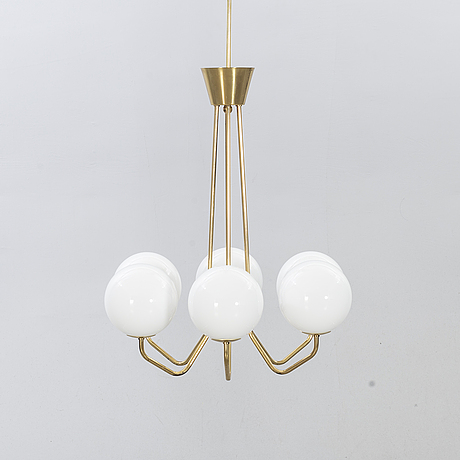 A swedish modern ceiling lamp mid 20th century.