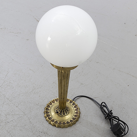 A mid 20 century table lamp.