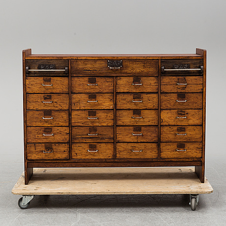 A mid 20th century counter.