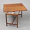 A second half of the 20th century dining table by karl erik ekselius for joc, vetlanda.