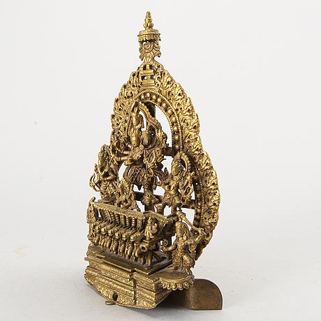 A nepal bronze sculpture, from appr 1900.