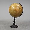 A large globe, h. kiepert, arvid kempe, wahlström & widstrand, stockholm, 1909.