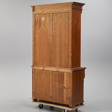 A late 19th century painted cabinet.