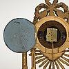 Bordspendyl, sengustaviansk sekelskiftet 1700/1800.
