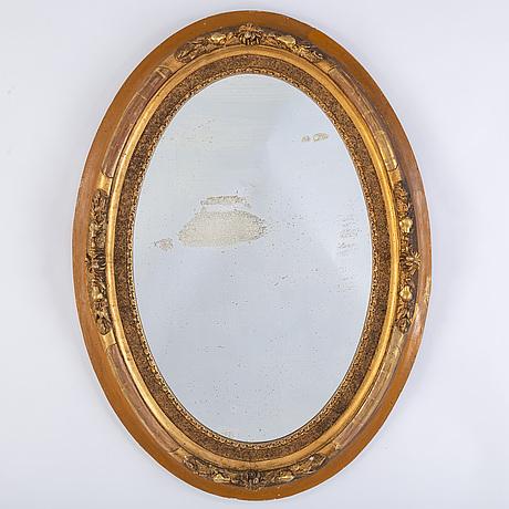A circa 1900 mirror.