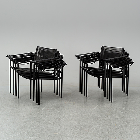 8 chairs, alias, italy.
