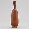 Berndt friberg, a stoneware vase, gustavsberg studio, sweden 1964.