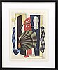 Fernand lÉger, lithograph in colours after.