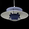 A 'ph-5' ceiling pendant light by poul henningsen for louis poulsen.