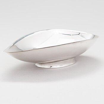 TAPIO WIRKKALA, A silver bowl, marked TW, Kultakeskus, Hämeenlinna, Finland 1963.
