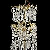 A late 19th century chandelier.