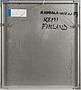 Olavi korolainen, acrylic on aluminium, signed and dated 1994.
