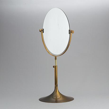 A table mirror.