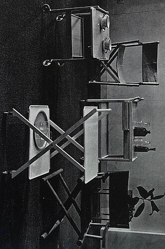 Nordiska kompaniet, serveringsvagn, 1960-tal.