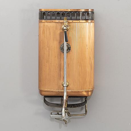 Varmvattensberedare, tyskland, 1900-talets första hälft.