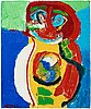Karel appel, untitled.