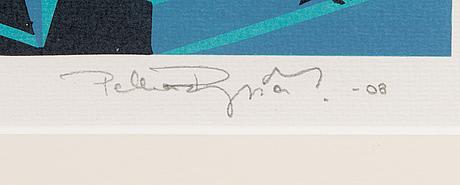 Pekka ryynÄnen, serigraph, signed and dated -08, numbered 80/100.