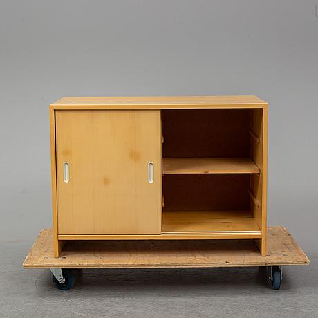 Alvar aalto, a model 217 birch cabinet from artek, finland.
