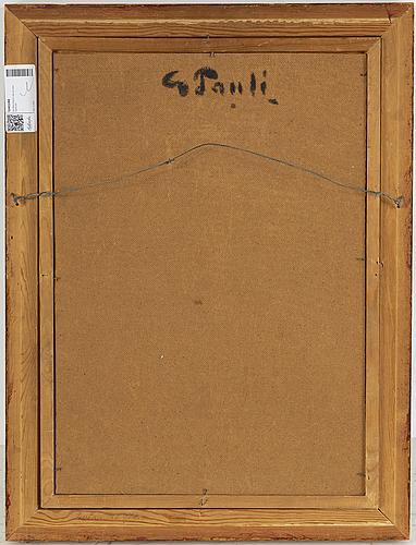 Georg pauli, georg pauli, olja på duk/pannå, signerad.