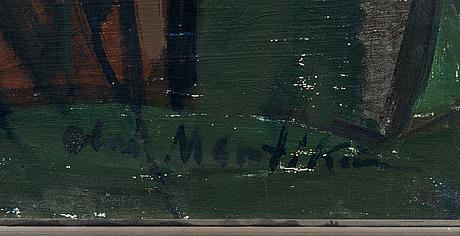 Olavi martikainen, öljy kankaalle, signeerattu.