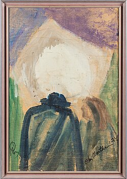 OLAVI MARTIKAINEN, oil on canvas, signed and dated -74.