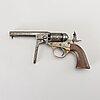 A cooper percussion revolver in cal 36, 19th century mid / latter half.