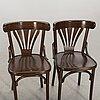 Karmstol samt stolar 3 st 1900-talets andra hälft.