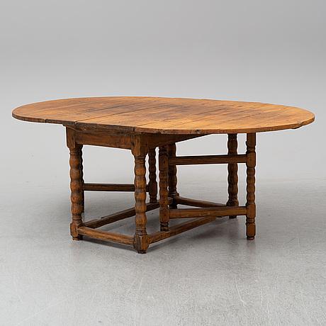 Slagbord, 17/1800-tal.
