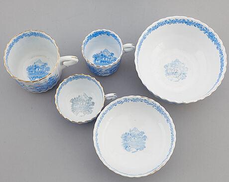 A porcelaine service, rörstrand (28 pc).