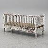 Soffa, gustaviansk stil, 1800-tal.