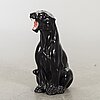 Skulptur 1900-talets senare del glaserad keramik.