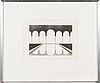 Pentti lumikangas, aquatint and dry point, signed and dated 1977, numbered 61/70.