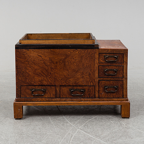 An oriental chest/cabinet, 20th century.