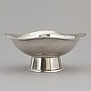 A sterling silver bowl, hugo strömdahl, stockholm 1957.