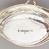 Soppslevar, 2 st, silver, omkring 1800.