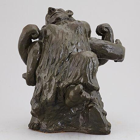 Åke holm, skulptur, troll, höganäs 1941.