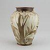 "Gunnar nylund, a ""flambé"" stoneware vase, rörstrand, sweden 1930-40's."