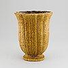 Gunnar nylund, a stoneware vase, rörstrand, mid 20th century.