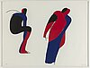 Lage lindell, silkscreen in colours, signed 33768.