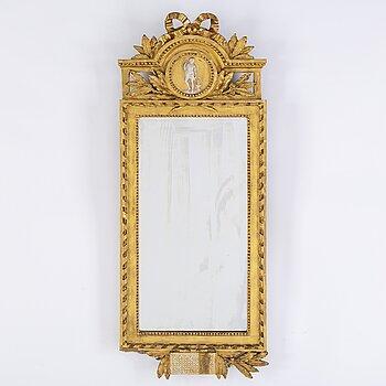 A Gustavian mirror by Johan Åkerblad 1788.