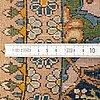 A carpet, semi-antique tabriz, ca 260 x 167 cm.