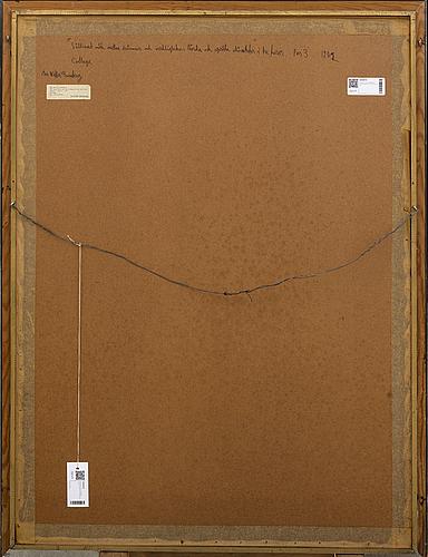 Max walter svanberg, collage, signerad och daterad 71.