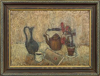 MAX WALTER SVANBERG, a signed and dated oil on canvas.