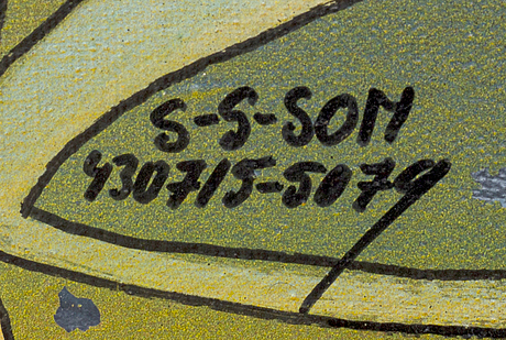 Sven-gÖran svensson g:son, oil on canvas, signed.