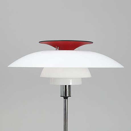 Poul henningsen, a 'ph 80' floor light,  louis poulsen, denmark.