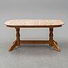 Matbord, furu, danmark, 1900-talets andra hälft.