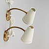 A pair of wall lights from elidus, fristad.